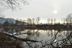 Selbst eine kahle Winterlandschaft hat ihren besonderen Reiz.