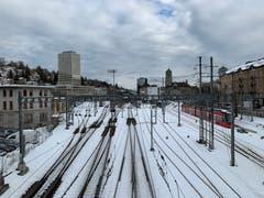 Blick von der Leonhard-Brücke: Der Zauber ist weg. (Bild: Susann Albrecht)