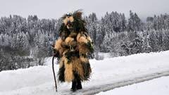Am Alten Silvester in Waldstatt (Bild: Reiner Bertsch)