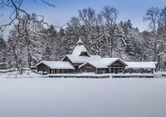 Frauenweiher im Winterkleid (Bild: Daniel Bertsch)
