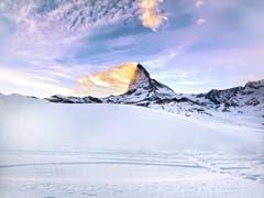 Winterferien in Zermatt. (Bild: Leila Aebli (Zermatt, 1. Januar 2019))