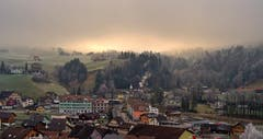 Interessante Lichtstimmung über Weissbad. (Bild: Thomas Ammann)