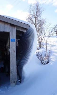 Viele Schneefälle machen einen Schneefall. (Bild: Ernst Rutz)