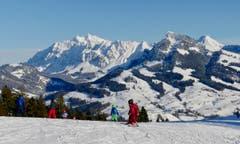 Perfekte Wintersport-Bedingungen auf der Wolzenalp. (Bild: Martin Giger)