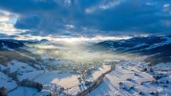Ein Luftbild aus dem Toggenburg. (Bild: Thomas Rickenmann)