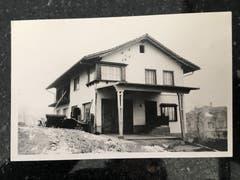 Im Jahr 1952 liess Karl Trunz die neue Werkstatt bauen. Sie steht etwas nach hinten versetzt an der Flawilerstrasse.