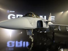 Der Gripen E ist in der Auswahl für das neue Schweizer Kampfflugzeug (Bild: Keystone/EPA TT NEWS AGENCY/ANDERS WIKLUND / TT)