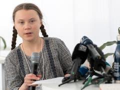 Die 16-jährige Klimaaktivistin Greta Thunberg war am Weltwirtschaftsforum in Davos einer der Medienstars. Ihre Botschaft: «Das Haus brennt.» (Bild: KEYSTONE/LAURENT GILLIERON)