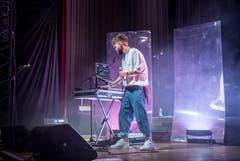 Vorband ist der Schweizer Rapper ZID aus Zürich. (Bild: Andrea Stalder)