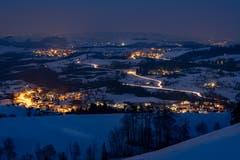 Winterstimmung auf dem Zugerberg (Bild: Daniel Hegglin (Zugerberg, 25. Januar 2019))
