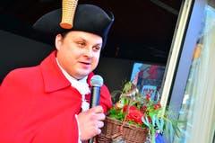 Die Tschyfärä-Zunft Alpnach hielt ihre Tagsatzung und wählte Christian I. Limacher (Kantonsrat) zu ihrem neuen Zunftmeister für 2019. Dieser stellte die fünfte Jahreszeit unter das Motto Buirähof. (Bild Markus von Rotz, 11. November 2018)