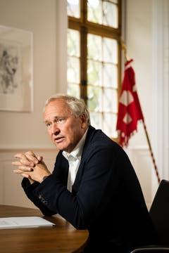 Paul Winiker (SVP). (Bild: Philipp Schmidli, Luzern, 15. Juli 2016)