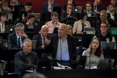 «Wir müssen wohl wirklich bald nach Hause.» Versprecher zum Dritten: Kurz vor Feierabend verhaspelte sich auch noch Hans Stutz (Grüne, Luzern) bei seiner Stellungnahmen zu einer Anfrage zum Justizvollzug. Danach war tatsächlich Schluss.