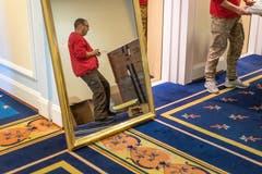 Bei Spiegeln und anderen Dingen, wie den... (Bilder: Michel Canonica)