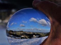 Was sagt die Glaskugel für das neue Jahr? (Bild: Alfred Herzog (Napfgebiet, 3. Januar 2019))