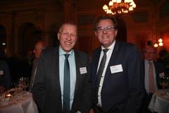 Vertreten den Kanton Luzern in Bern: CVP-Ständerat und IHZ-Vorstandsmitglied Konrad Graber zusammen mit FDP-Nationalrat und Unternehmer Peter Schilliger. (Bild: PD)