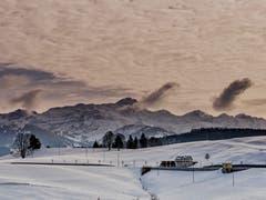 Der Säntis, von Schwellbrunn aus. (Bild: Luciano Pau)
