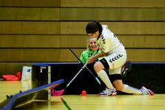 Zugs Fabienne Riner kämpft hart gegen Annina Eisenbart. (Bild: Maria Schmid (Zug, 6. Januar 2019 ))