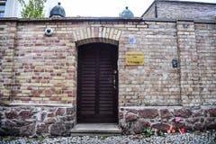 Diese Synagoge war Ziel des Angriffs. (Bild: Keystone/ Filip Singer, 10. Oktober 2019)