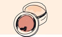 5. Die Seiten der Sohlen putzen und mit Wachscreme polieren. Spezielle Sohlenrandfarbe wird nicht empfohlen, da die Gefahr gross ist, aus Versehen auch das Leder zu verfärben.
