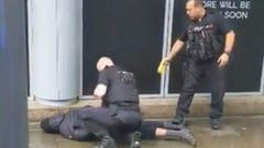 Der (oder einer der) Täter konnte verhaftet werden. (Bild: BBC)