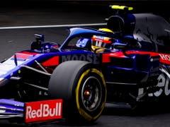 Die Autos von Toro Rosso werden seit der vergangenen Saison von Honda-Motoren angetrieben (Bild: KEYSTONE/EPA/DIEGO AZUBEL)