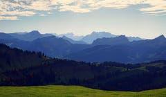 Von der Hochalp Richtung Glarner Alpen aufgenommen. (Bild: Thomas Ammann)