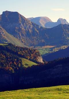 Von der Hochalp Richtung Chäserugg aufgenommen. (Bild: Thomas Ammann)