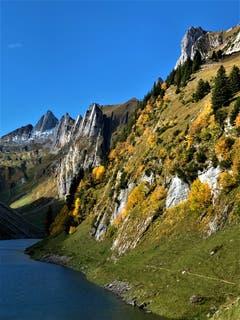 Herbststimmung am Fälensee. (Bild: Frieda Bolliger)