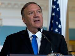 Die USA wollen nach den Worten von Aussenminister Mike Pompeo die Beziehungen zur Türkei nicht abzubrechen. (Bild: KEYSTONE/FR159526 AP/JOSE LUIS MAGANA)