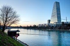 Roche-Turm, Basel Mit 178 Metern das höchste Gebäude der Schweiz. Architekt: Herzog und de Meuron Bauzeit: 2012–2015Bild: Keystone