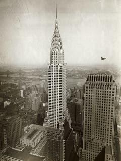 Chrysler Building, New York Mit 319 Metern damals das höchste Gebäude der Welt. Architekt: William Van Alen Bauzeit: 1928–1930 Bild: Getty Images