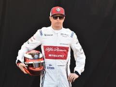 Auf diese Saison hin kehrte Kimi Räikkönen zum Hinwiler Rennstall zurück. In 17 Rennen holte der der «Iceman», wie er wegen der Abgebrühtheit und berühmt-berüchtigten Wortkargheit genannt wird, bislang 33 Punkte für Alfa Romeo. Zuletzt verpasste er aber fünfmal hintereinander die Top 10 (Bild: KEYSTONE/EPA AAP/JAMES ROSS)