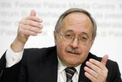 Samuel Schmid, SVP. 2001 - 2008.