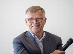 Peter Wanner, Verwaltungsratspräsident von CH Media. (Bild: KEYSTONE/URS FLUEELER)