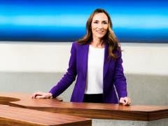 Fällt nach Velounfall kurzfristig aus: Nicole Frank, die stellvertretende Moderatorin des SRF-Politmagazins «Rundschau». (Bild: SRF)