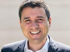 Der 35-jährige Anwalt Mathias Zopfi schaffte im Kanton Glarus die Sensation und holt für die Grünen auf Kosten der SVP einen Sitz im Ständerat. (Bild: KEYSTONE)
