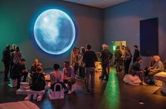 Impressionen aus dem Zukunftsraum: «2019 + 200 = 2219». (Bild: Philipp Schmidli, 19. Oktober 2019)