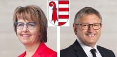 JuraElisabeth Baume-Schneider (SP, 8895 Stimmen)Charles Juillard (CVP, 7630 Stimmen)
