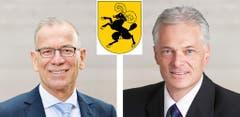 SchaffhausenHannes Germann (SVP, 17'333 Stimmen)Thomas Minder (parteilos, 14'813 Stimmen)