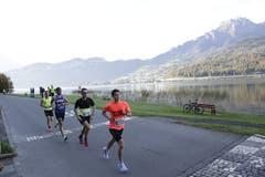 Die Läufer beim Winkel. Bild: Jakob Ineichen, Horw, 27. Oktober 2019)