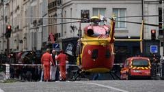 Es gab mehrere Verletzte. (Bild: Le Parisien)