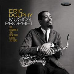 Eric Dolphy: Musical Prophet. New York Studio Sessions (1963). Nie gehörtes, neues Studiomaterial des Avantgarde-Genies.