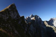 Schafbergsattel - im Herzen der zweiten Alpsteinkette. (Bild: Heinz Weber)