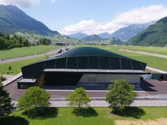Die Halle mit der Grösse von zwei Fussballfeldern hat rund 45 Millionen Franken gekostet. (Bild: PD)