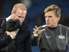 Ludovic Magnin (links) wird im Cup-Knüller bei den Young Boys durch Assistent Alfons Higl vertreten (Bild: KEYSTONE/ALESSANDRO DELLA VALLE)