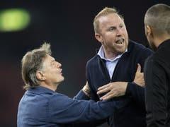 Der FCZ-Coach ist nach seinem Ausraster nach Spielschluss im Meisterschaftsspiel gegen Basel für den Cup gesperrt (Bild: KEYSTONE/ENNIO LEANZA)
