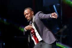 Verbringt die erste WM seit seinem Karriereende am Münchner Oktoberfest: Ex-Sprintstar Usain Bolt (Bild: Keystone)