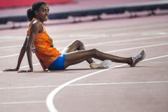 Das Bild täuscht: Sifan Hassan gewinnt über 10 000 Meter Gold für die Niederlande: (Bild: Keystone)