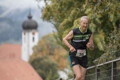 Josef Fluder aus Hergiswil. (Bild: Pius Amrein, 6. Oktober 2019)